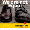 We are not equal.